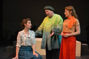 Lowe Taylor, Roy Leake, Jr. and Kristi Holden in Musical Theatre Guild's production of WONDERFUL TOWN.