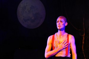 Ryan Walters in BURNING BLUEBEARD by Jay Torrence, directed by Halena Kays.