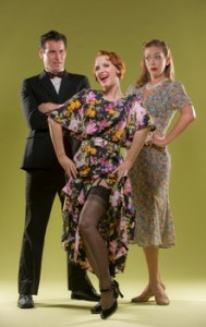 Sean Thompson, Halsey Varady and Allison Rich in 42ndStreet Moon's production of I MARRIED AN ANGEL.