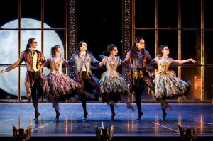 The cast of MATTHEW BOURNE'S SLEEPING BEAUTY - photo by Simon Annand