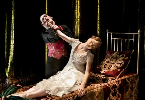 Tom Jackson Greaves and Hannah Vassalo in MATTHEW BOURNE'S SLEEPING BEAUTY - photo by Simon Annand