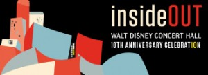 insideOUT - Walt Disney Concert Hall 10th Anniversary Celebration - POSTER