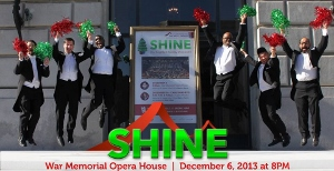 Post image for San Francisco Music Review: SHINE: OUR BRIGHTEST HOLIDAY SHOW EVER! (SF Gay Men's Chorus)