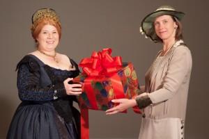 2013 Christmas Revels - Suzanne Long and Cynthia Bassham