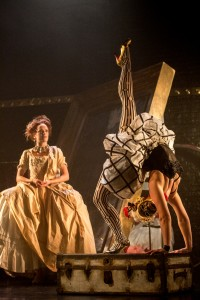 Laura Careless as Marie-Claire and Cassady Rose Bonjo as Nutcracker Doll in Nutcracker Rouge Photographer: Robert Zash
