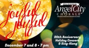 ANGEL CITY CHORALE'S JOYFUL, JOYFUL HOLIDAY CONCERT - Poster Logo
