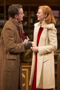 Eddie Kaye Thomas and Deborah Ann Woll in PARFUMERIE.