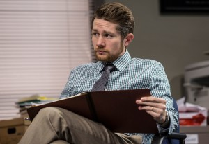 Erik Hellman (Cliff) in Goodman Theatre's world-premiere production of LUNA GALE.
