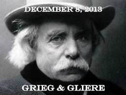 Post image for Los Angeles Music Review: LE SALON DE MUSIQUES – GLIÈRE & GRIEG (Dorothy Chandler Pavilion)