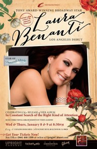 Laura Benanti, In Constant Search of the Right Kind of Attention in Holywood - Poster