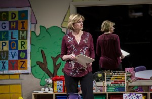 Mary Beth Fisher (Caroline) in Goodman Theatre's world-premiere production of LUNA GALE.