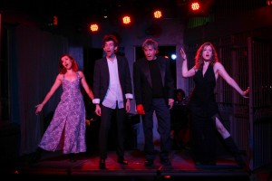 Megan Rippey, Sol Mason, Paul Sand and Shay Astar in 'Kurt Weill at the Cuttlefish Hotel' - West End Theatre at the end of the Santa Monica Pier.