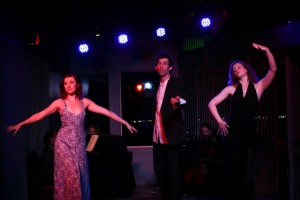 Megan Rippey, Sol Mason and Shay Astar in 'Kurt Weill at the Cuttlefish Hotel' - West End Theatre at the end of the Santa Monica Pier.