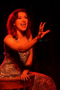 Megan Rippey in 'Kurt Weill at the Cuttlefish Hotel' - West End Theatre at the end of the Santa Monica Pier.