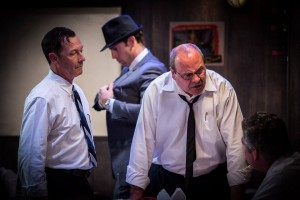 "Michael Franco and Gil Glascow in Christian Levatino's ""Sunny Afternoon"" at Theatre Asylum in Hollywood."