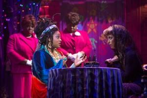 Nicole Turner, Carla R. Stewart, Evette Maria White and Hana Freeman in GHOST THE MUSICAL on tour.