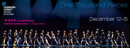 Post image for Chicago Dance Review: ONE THOUSAND PIECES (Hubbard Street Dance Chicago)