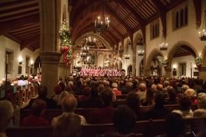 Pasadena Symphony's HOLIDAY CANDLELIGHT CONCERT at All Saint's Church in Pasadena