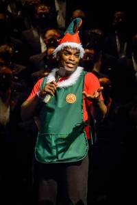 San Francisco Gay Men's Chorus' 'SHINE - OUR BRIGHTEST HOLIDAY SHOW EVER' photo of Michael Tate by Alessandra Mello Photography