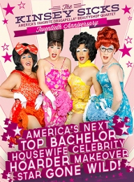 Post image for San Francisco Theater Preview: AMERICA'S NEXT TOP BACHELOR HOUSEWIFE CELEBRITY HOARDER MAKEOVER STAR GONE WILD! (The Kinsey Sicks)