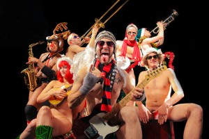 """The Band"" from NAKED HOLIDAYS, Off-Broadway at the Cutting Room"