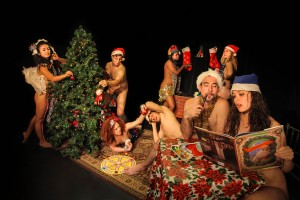 """Family Hour"" from NAKED HOLIDAYS, Off-Broadway at the Cutting Room"