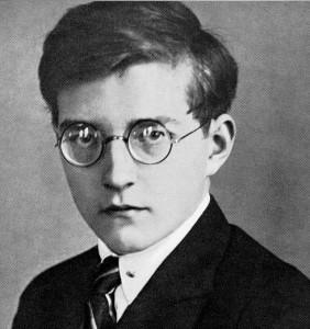 A young Shostakovich