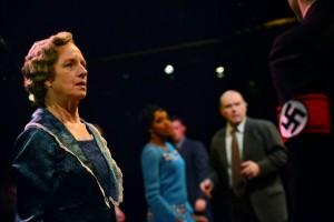 """Annabel Armour as """"Fraulein Schneider"""" in Cabaret at  the Marriott Theatre."""