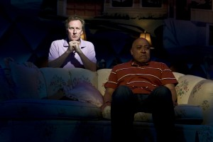 "Daniel Gerroll and Keith Randolph Smith in The New Group's production of ""Intimacy."""