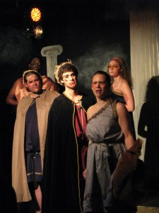 "Scene from ""Electra"" at the Archway Theatre."