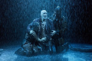 Harry Melling, Frank Langella and Steven Pacey in KING LEAR at BAM.
