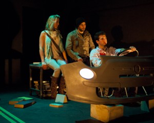 Noelle Greer, Damon Dunay and Alexander Greer in COLDWATER by Blue Cube at Son of Semele Ensemble.