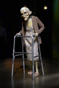 Queenie from PENNY PLAIN by Ronnie Burkett Theatre of Marionettes