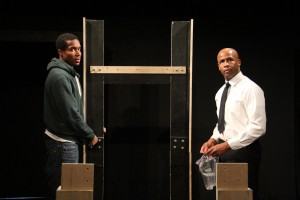 Terrence Colby and Shon Fuller in BUNK at Son of Semele Ensemble.
