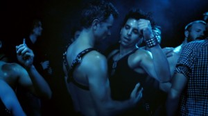Val Lauren and Christian Patrick in the movie INTERIOR. LEATHER BAR. directed by James Franco and Travis Mathews.