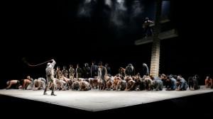 A scene from LA Opera's BILLY BUDD.