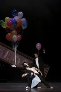 Alina Cojocaru, Aleix Martinez, Sasha Riva & Carsten Jung in Hamburg Ballett's LILIOM by John Neumeier - Photo by Holger Badekow.