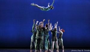 BILL T. JONES ARNIE ZANE DANCE COMPANY - D-Man in the Waters - Photo by Paul B. Goode