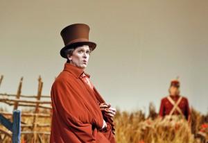 Bass Kevin Burdette plays Dulcamara in San Diego Opera's THE ELIXIR OF LOVE.