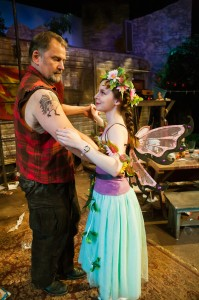 "Brian Dykstra and Julia Belanoff in ""Jerusalem"" at the San Francisco Playhouse."