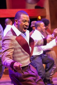 Brian Nelson as Alvin Cash in CHICAGO'S GOLDEN SOUL (A 60'S REVUE) at Black Ensemble Theater.
