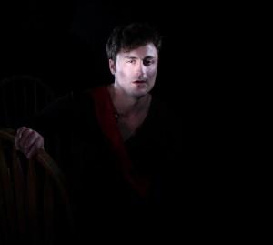 Charles Pasternak in Porters of Hellsgate's production of HENRY V.