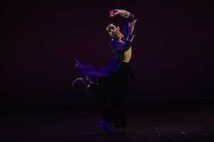 Choreographer and dancer Aakash Odedra in ECSTASY, part of JAMES BROWN - GET ON THE GOOD FOOT, A CELEBRATION IN DANCE.