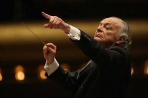 Conductor Lorin Maazel