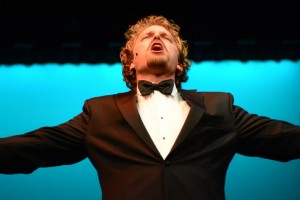 Dan Callaway in Musical Theatre Guild's production of DEATH TAKES A HOLIDAY. (photo by Alan Weston)