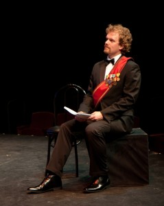 Dan Callaway in Musical Theatre Guild's production of DEATH TAKES A HOLIDAY. (photo by Stan Chandler)