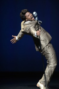 "Derick K. Grant in ""Live"" by Otis Sallid, part of JAMES BROWN: GET ON THE GOOD FOOT, A CELEBRATION IN DANCE."
