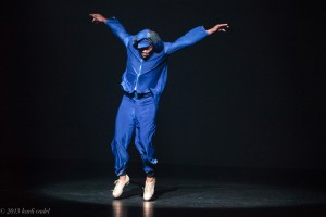 Derick K. Grant in SUPERBAD, part of JAMES BROWN - GET ON THE GOOD FOOT, A CELEBRATION IN DANCE. Photo by Karli Cadel.