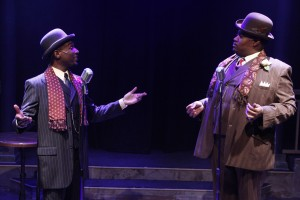 Donterrio Johnson and Lorenzo Rush, Jr. in Porchlight Music Theatre's 'Ain't Misbehavin' at Stage 773
