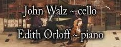 Post image for Los Angeles Music Review: JOHN WALZ & EDITH ORLOFF (Le Salon de Musiques)
